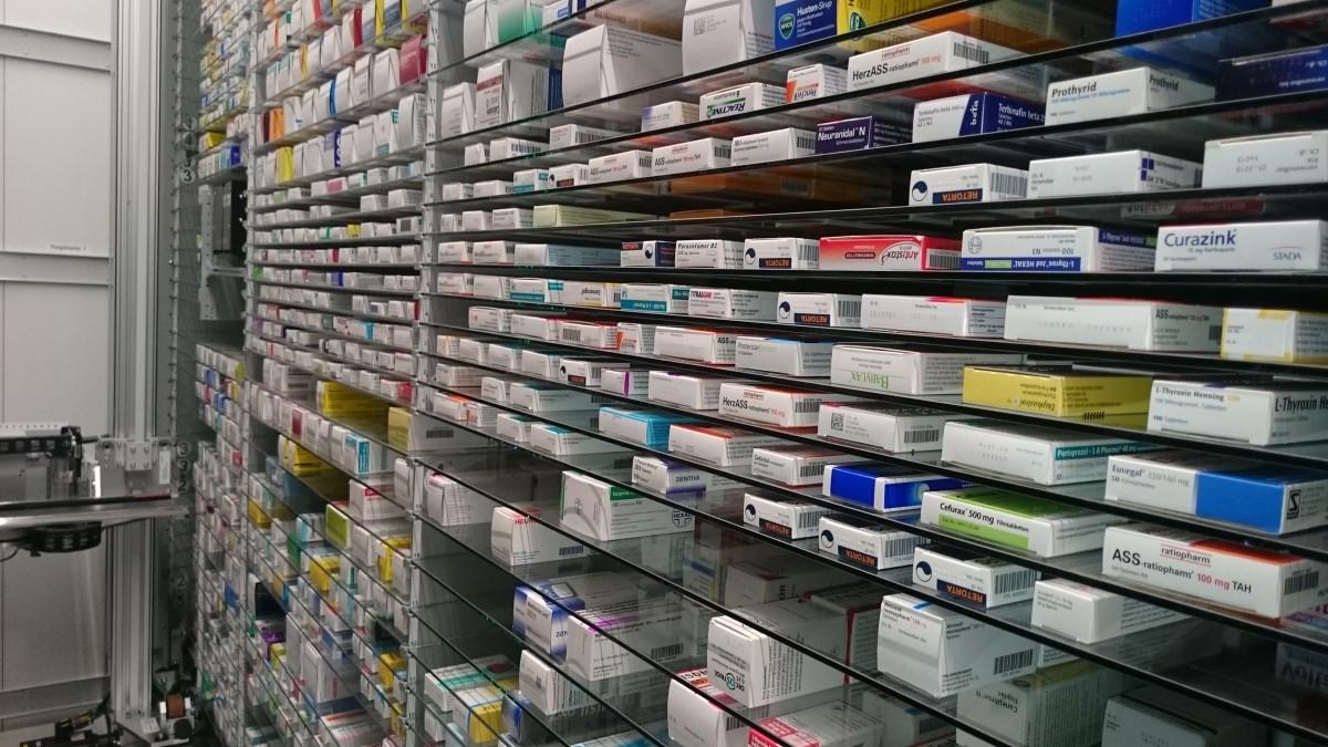 Arzneimittel im Automaten